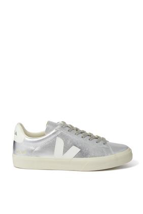 Metallic Low Top Sneakers