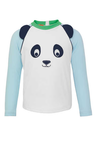 Panda Long-Sleeved Rash Vest