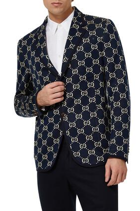 GG Interlock Jersey Blazer
