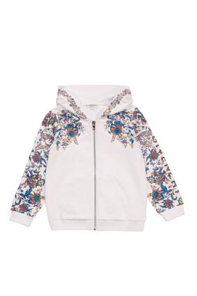 Floral Hooded Jacket