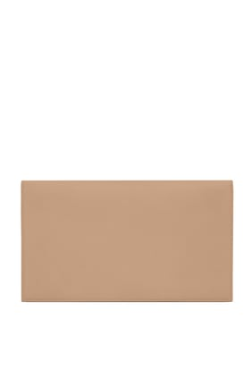 Uptown Pouch In Grain De Poudre Embossed Leather