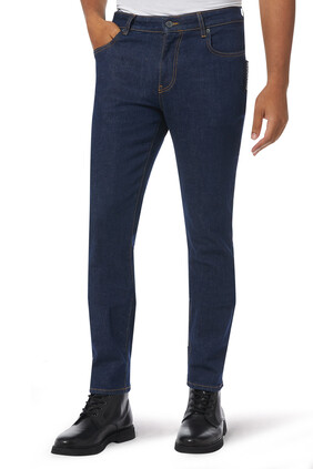 Big Label Denim Jeans
