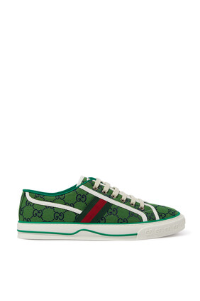 Green Tennis Sneakers
