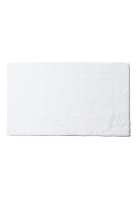 White Reversible Bath Mat
