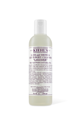 Lavender Scented Bath And Shower Liquid Body Cleanser
