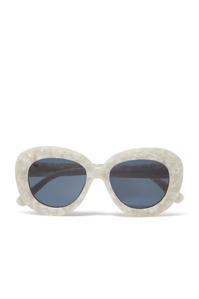 Astrid Clear Sunglasses