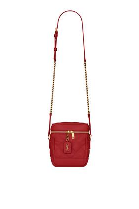 80's Vanity Leather Bag