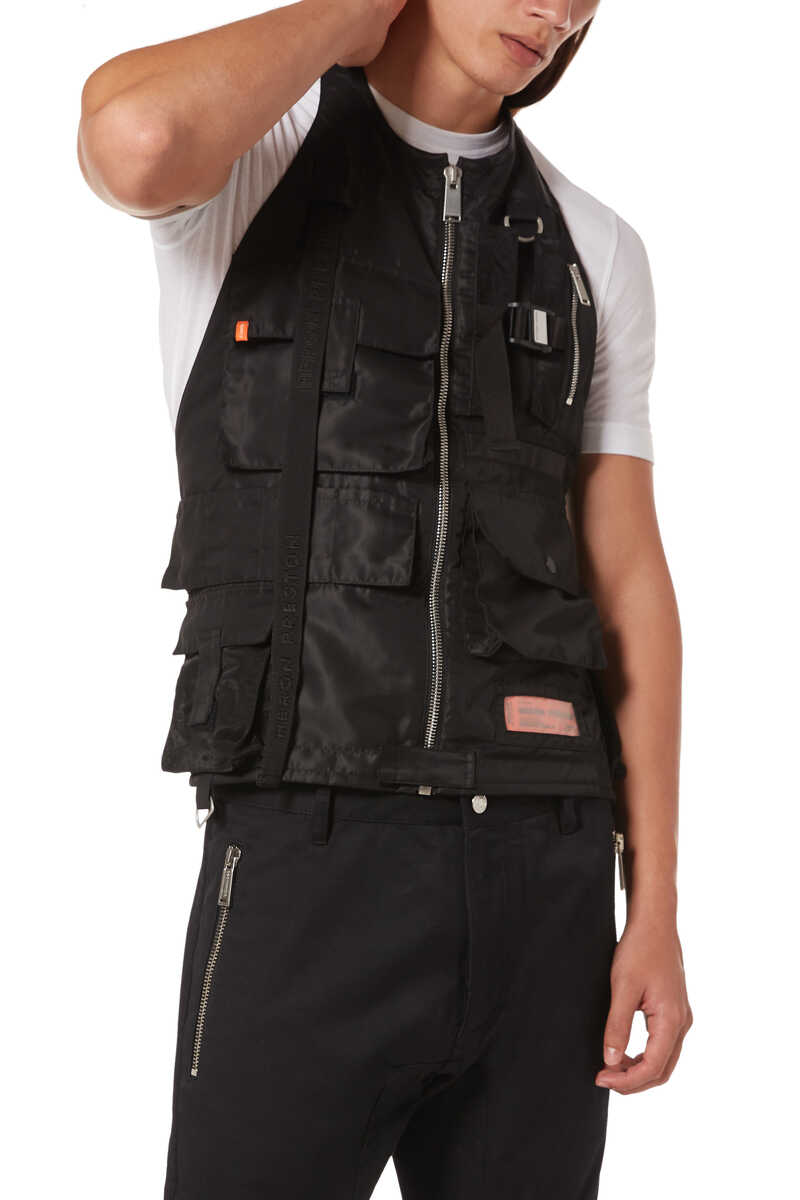 Nylon Pocket Vest image number 1