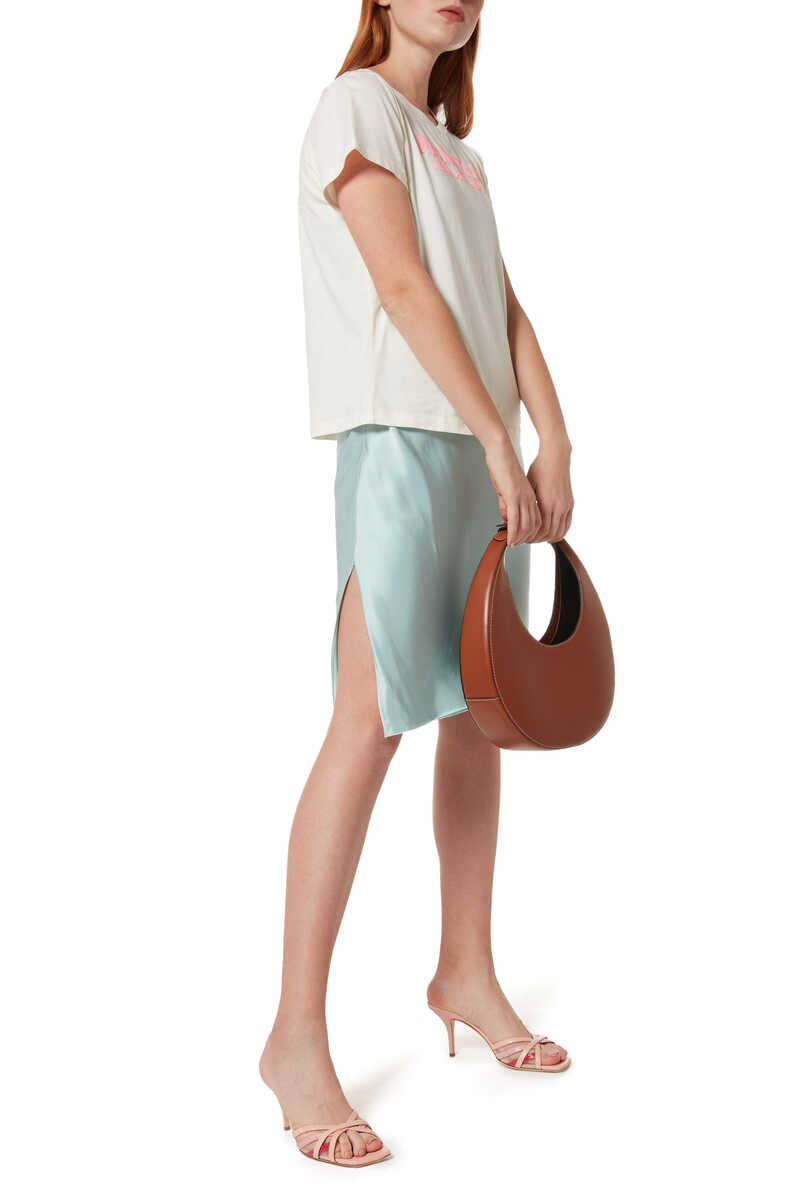 Asymmetric Slip Dress image number 2