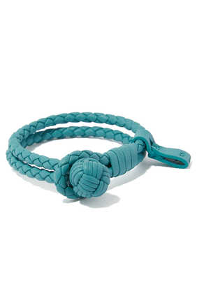 Nappa Leather Braided Bracelet