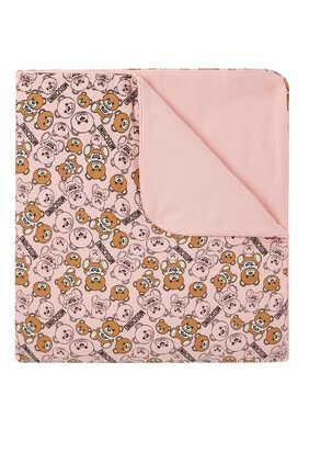 Bear Logo Baby Blanket