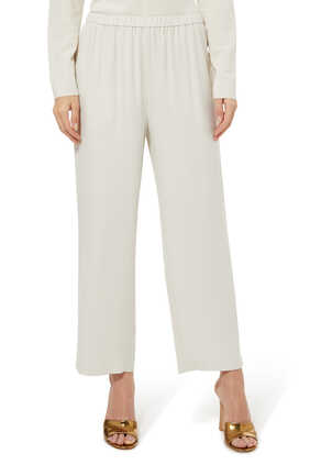 Silk Georgette Pants