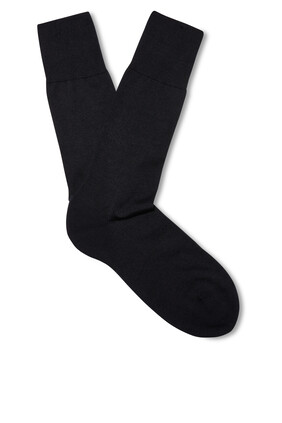 Merino Wool and Silk-Blend Socks