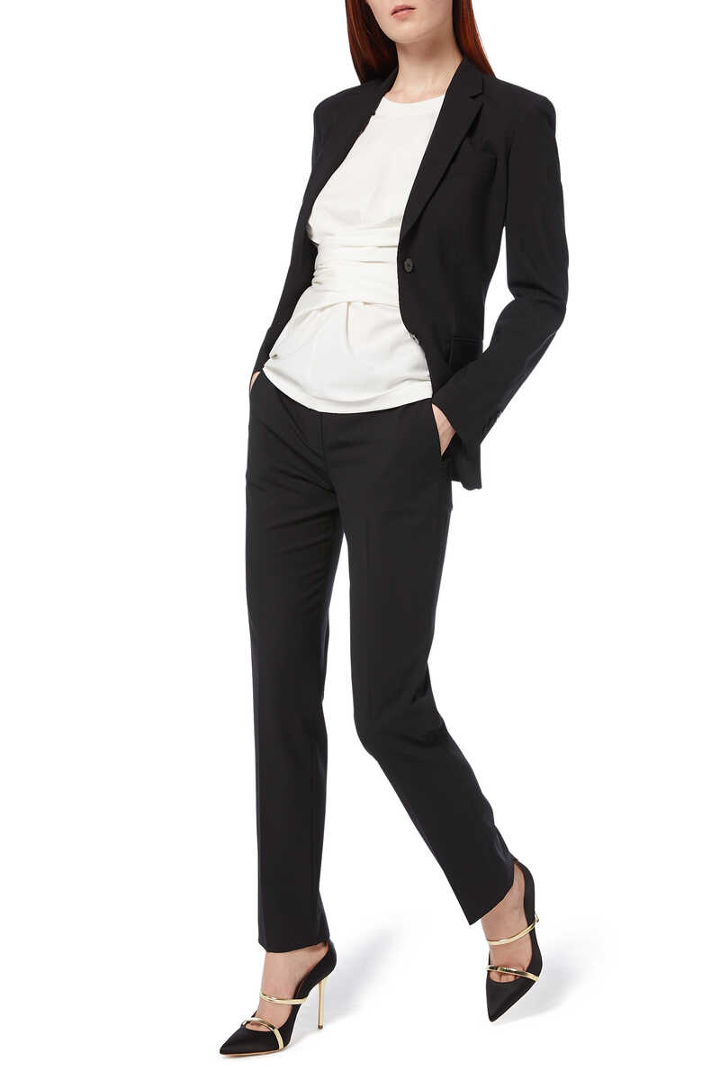 Treeca Tailored Wool Pants image number 2