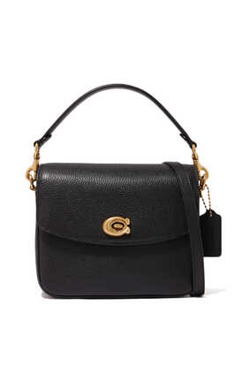 Cassie 19 Pebble Leather Cross-Body Bag