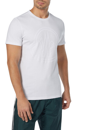 Flocked Logo Graphic Jersey T-Shirt