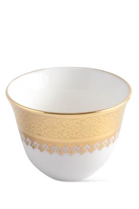 Porcelain Cawa Cup, Set of 6
