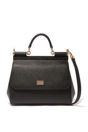 Miss Sicily Dauphine Medium Top Handle Bag