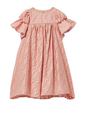Ruffles Sleeve Dress