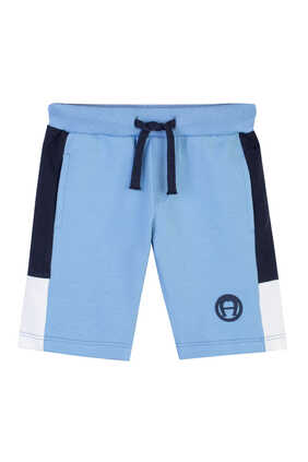 Cotton Logo Shorts