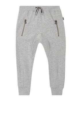 Ashton Side-Zip Sweatpants