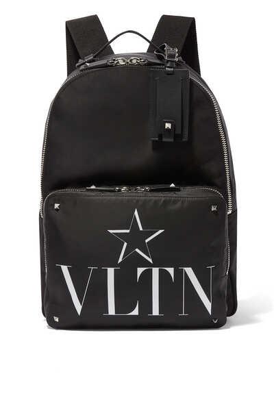 Valentino Garavani VLTN STAR Nylon Backpack