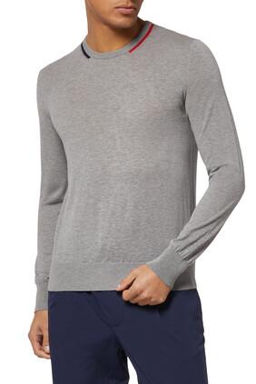Collar Detail Sweater