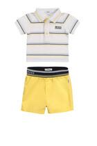 Polo T-Shirt and Shorts Set