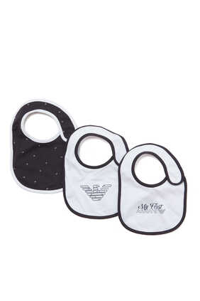 My First Armani Bib Set of 3
