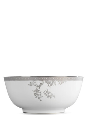 Vera Wang Lace Platinum Salad Bowl 25cm