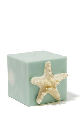 Large Turquoise Waters Candle