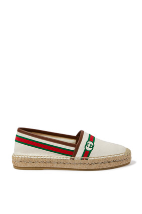 Logo Embroidered Espadrilles