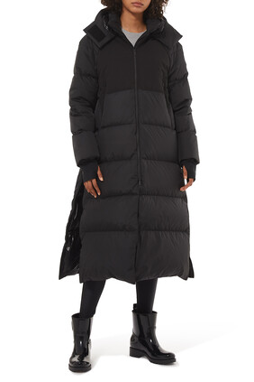 Heliotrope Long Down Coat