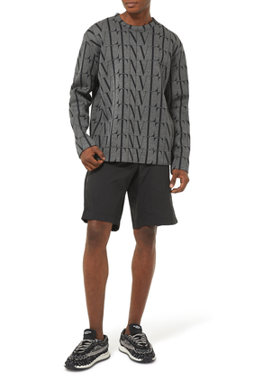 VLTN Stripe Shorts