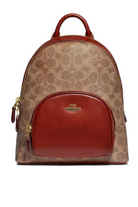 Signature Canvas Carrie Backpack
