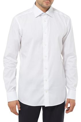 Slim Fit Mushroom Print Shirt