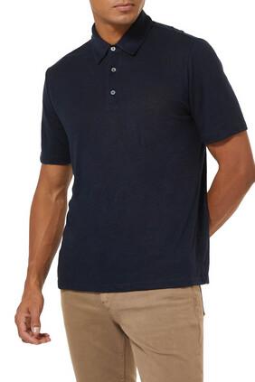 Linen Polo Shirt