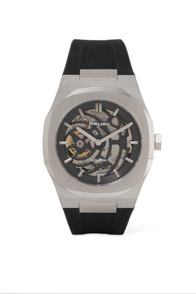 Skeleton 41.5mm Automatic Watch
