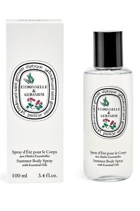 Citronnelle and Geranium Summer Body Spray