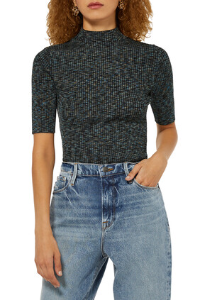 Leenda Merino Wool Turtleneck Sweater