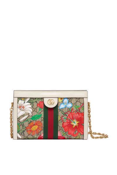Ophidia GG Flora Small Shoulder Bag
