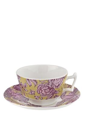 Kingsley Floral Tea Cup & Saucer set of 4