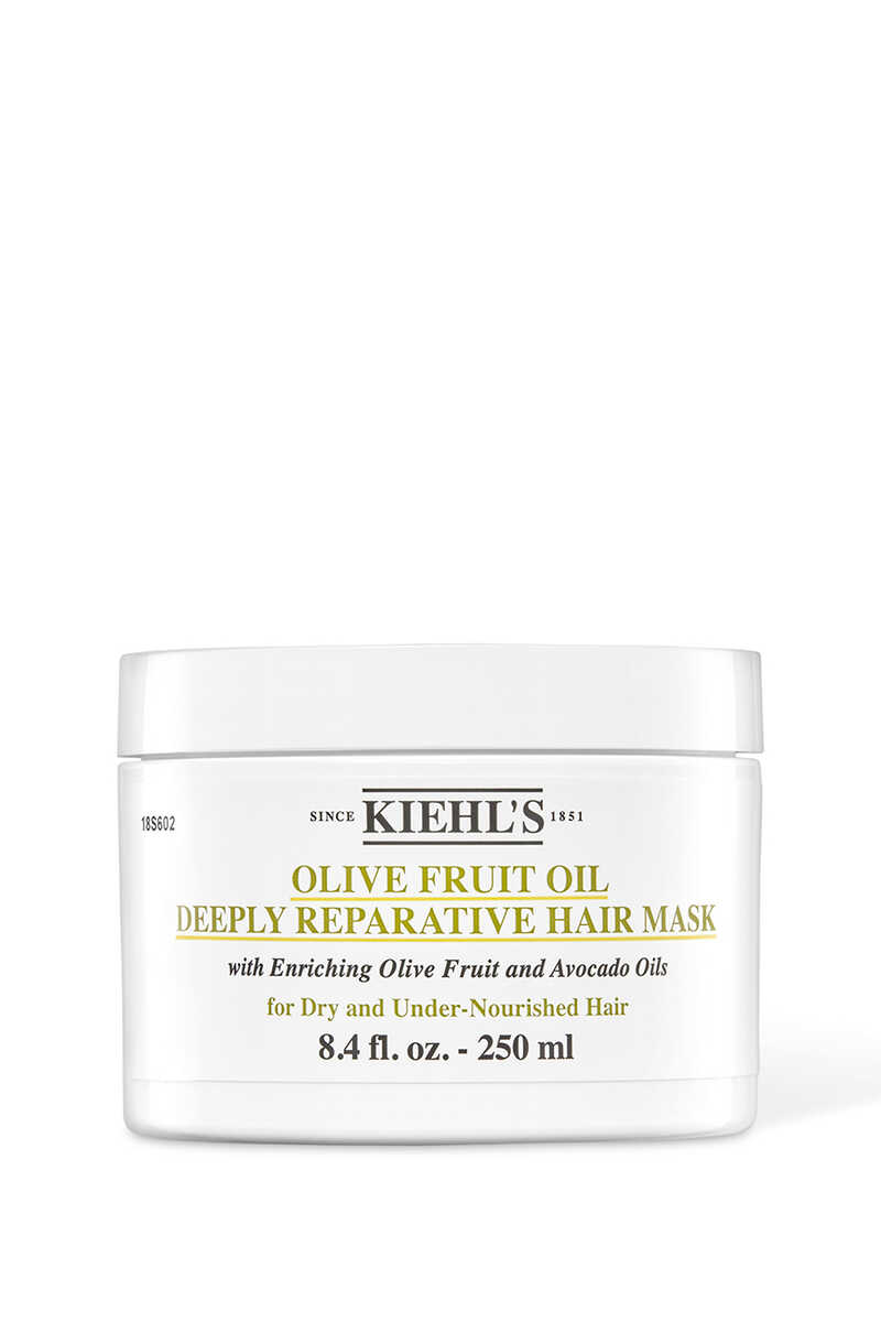 Olive Fruit Oil Deeply Reparative Hair Mask image number 1