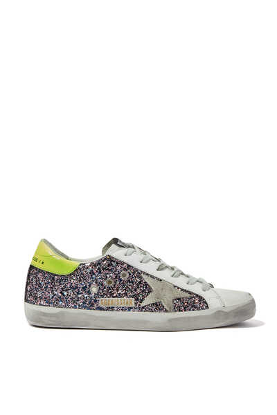All-Over Glitter Low Top Sneakers