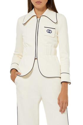 Interlocking G Jersey Jacket