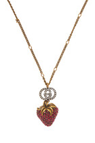 Strawberry Pendant Necklace