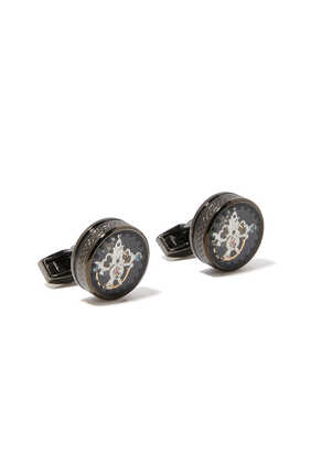 Tourbillon Gear Cuff Links
