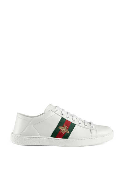 Ace Embroidered Sneakers