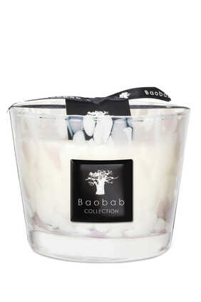 Bao Max 10 White Pearls Candle