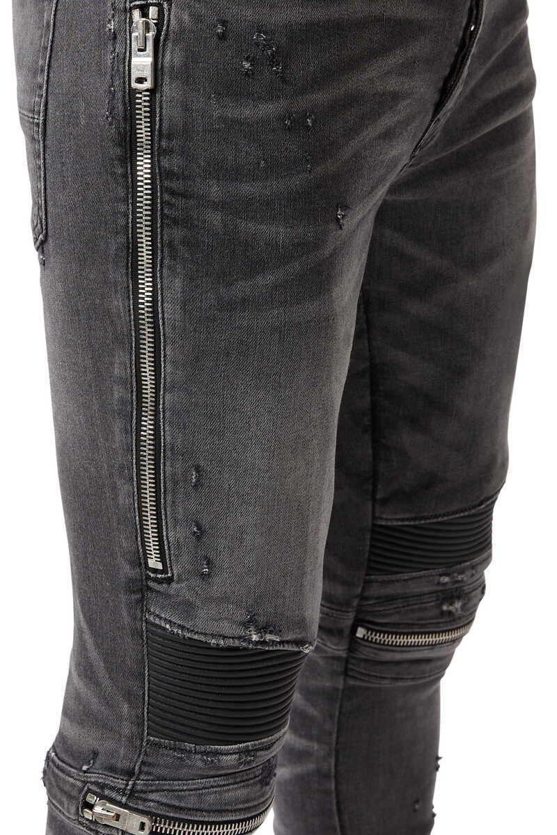 MX2 Zipped Jeans image number 4
